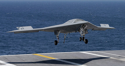 Drone landing on aircraft carrier opens new possibilities for Pentagon