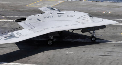 Drone carrier landing: Navy successfully completes unmanned carrier landing (+video)