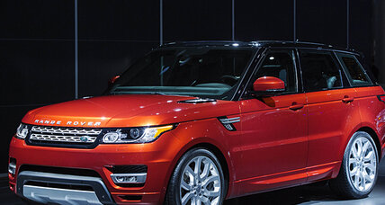 Land Rover Range Rover Sport: zippy, powerful, and slim
