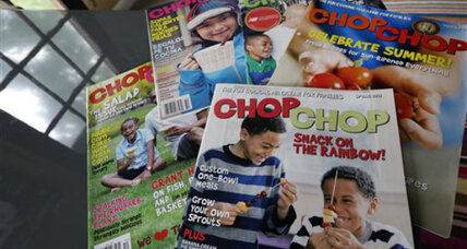 Childhood obesity: ChopChop mag says forget lectures, teach kids to cook