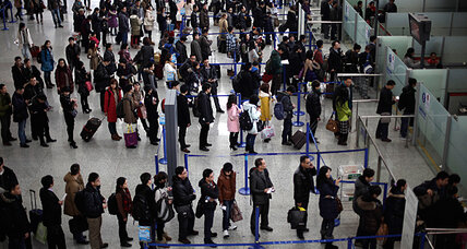 Which country has the worst airport delays in the world?