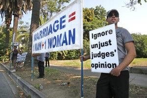 Same sex marriage california real estate