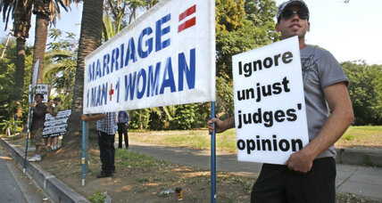 Gay marriage: Opponents ask California Supreme Court to enforce ban
