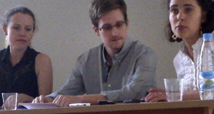 Is Edward Snowden stuck in Russia?