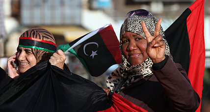 In liberated Libya, women struggle to raise their hand