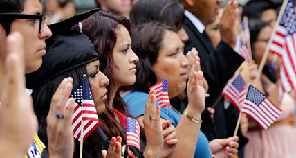 On immigration reform, more Americans hew to the Democrats' stance