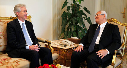US envoy seeks to shore up influence in post-Morsi Egypt
