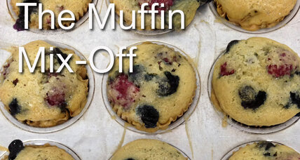 Muffin mix-off contest and cookbook giveaway