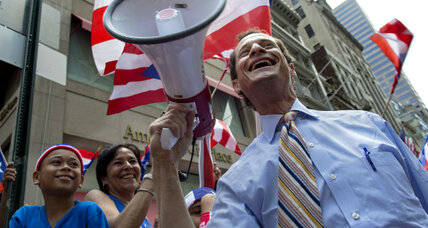 Why black voters are backing Anthony Weiner in N.Y. mayor race (+video)
