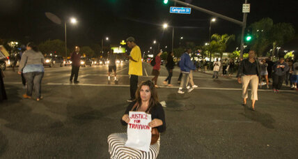 Juror B37: 'Race did not play a role' in Zimmerman trial. Protesters disagree.