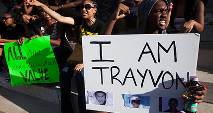 How much has Obama influenced public debate on Trayvon Martin?