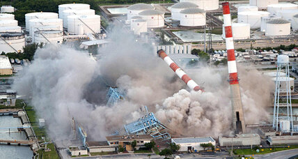Power plant implosion: Florida utility dynamites old plant