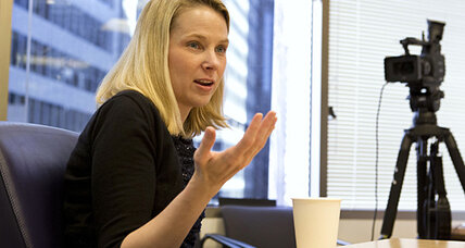 Marissa Mayer hits one year at Yahoo, but revenue disappoints