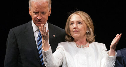 Hillary who? Joe Biden says he still dreams of becoming president.