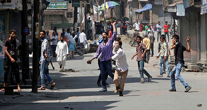 In Kashmir, police open fire on protesters