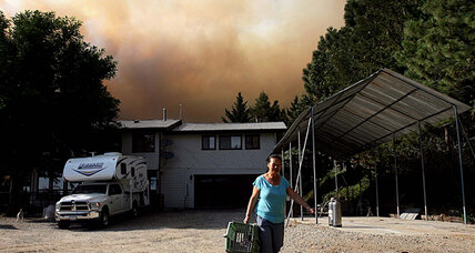 Idyllwild fire grows to more than 35 square miles