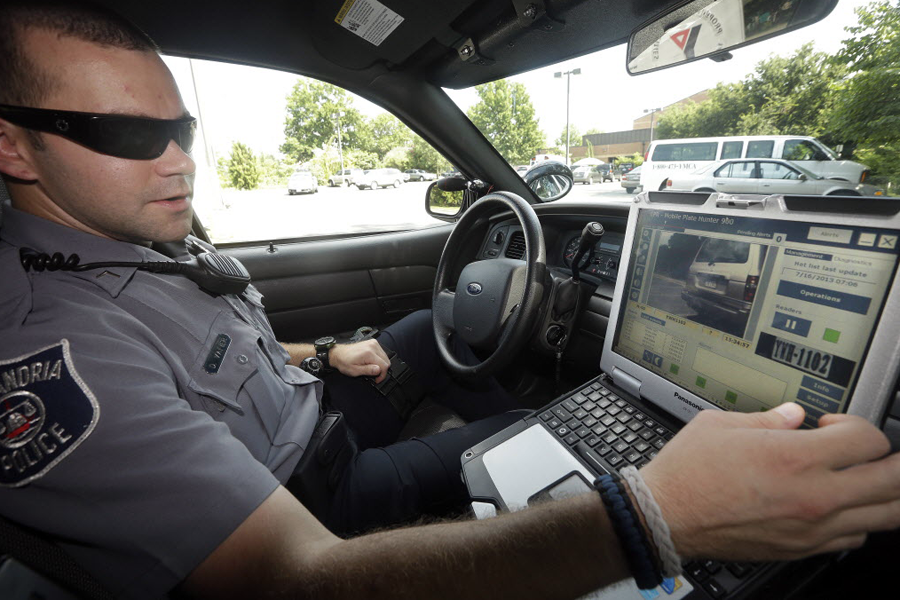 License plate scanners have allowed police to log location