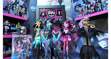 'Goth Barbie' sells big; Barbie sales slump