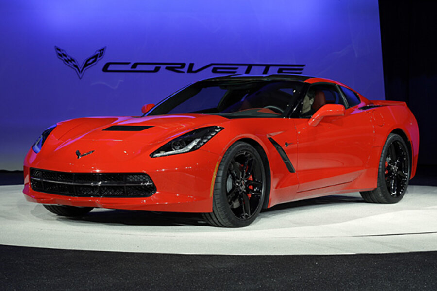 New Corvette Stingray: good gas mileage, for a sports car ...