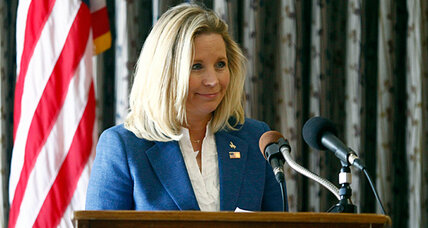 Why Liz Cheney may be riding for a fall in Wyoming Senate race (+video)
