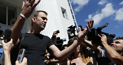 Why did the Kremlin release Russian opposition activist Navalny?