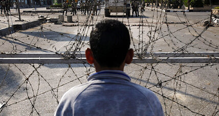 In Egypt, lonely voices warn of too much love for the military