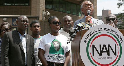 Trayvon Martin rallies: Has Al Sharpton 'gone mainstream'? (+video)