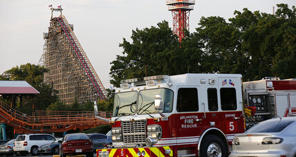 Women dies on Six Flags roller coaster, was she properly secured?