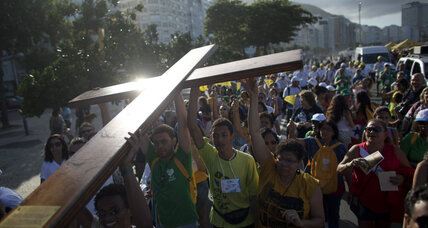 Pope heads to Brazil to visit youth, poor