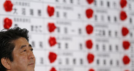 Japanese voters give boost to 'Abenomics'
