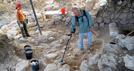 Coining the Holy Land's history