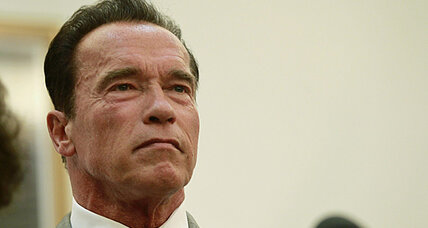 Schwarzenegger filming documentary on climate change and wildfires