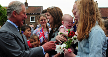 Amid royal baby hubbub, grandpa Charles' popularity on the rise