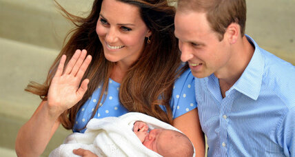 Will and Kate's royal baby boy sets Washington a-twitter