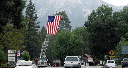 Idyllwild fire mostly contained. Now mudslide threatens California homes.