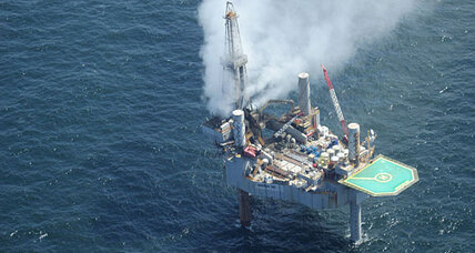 Natural gas rig explodes, partially collapses in Gulf. How big a disaster?