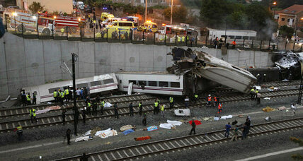 Spain train derailment scene deemed 'Dante-esque' by official (+video)