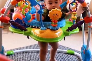1db7992c0685 Baby Einstein recall  Jumper problems raised in reviews since 2011 ...