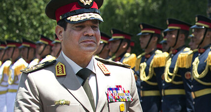 Egyptian army chief calls for help to fight 'terrorism' of the Muslim Brotherhood