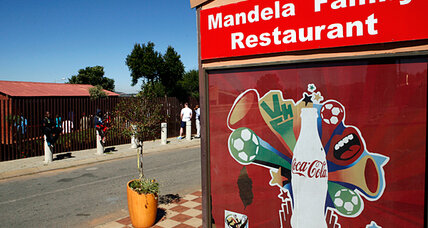Mandela's old street in Soweto now scene of new South Africa