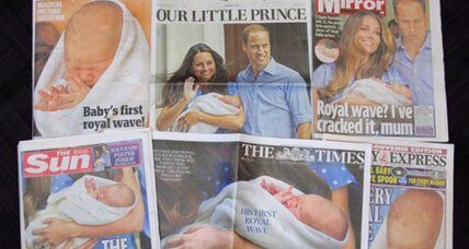 George Alexander Louis: His Royal Highness Prince of Cambridge has a name!