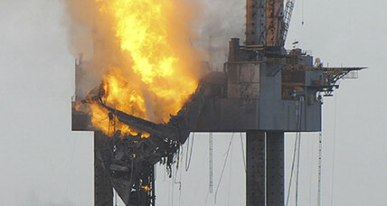 Gulf rig explosion: Natural gas leaks have stopped, as probe continues