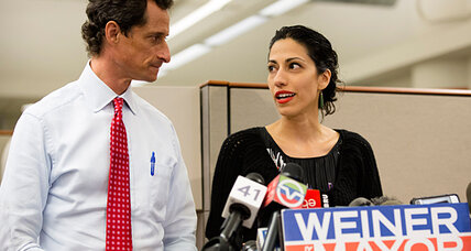 Huma Abedin and Anthony Weiner: Why women are tiring of 'good wife' image