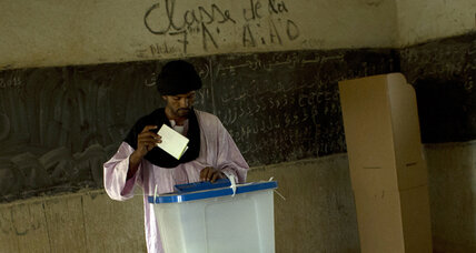 Election turnout high in Mali on the heels of war and French-led intervention