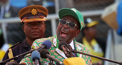 Robert Mugabe rants about the West and gays, may exclude 2 million voters