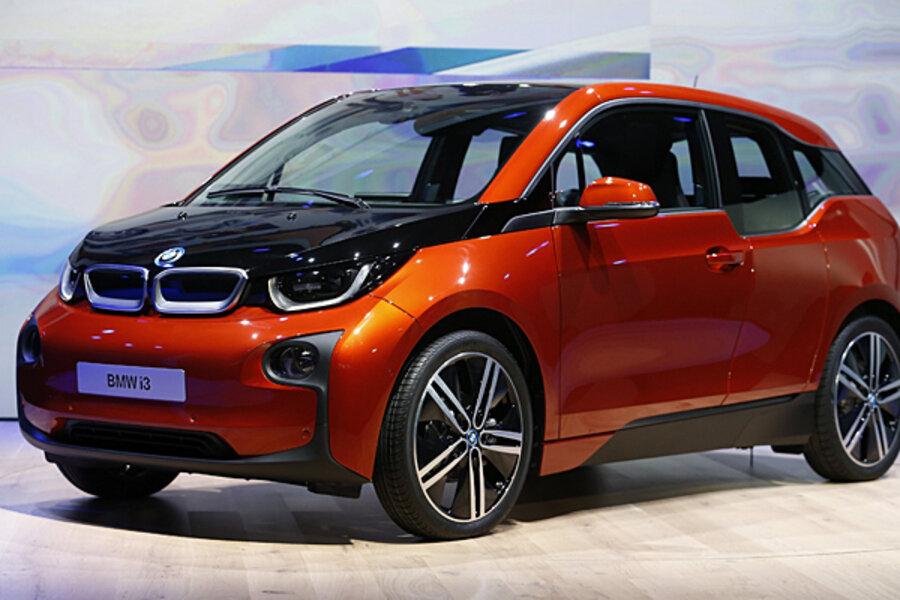 Bmw I3 With Electric Car Bmw Eyes An Urban Future