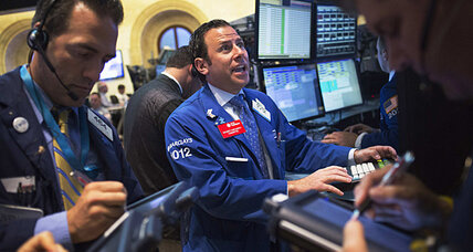 Stocks fall ahead of busy week for markets