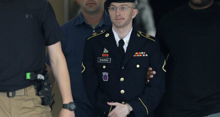Bradley Manning acquitted of 'aiding the enemy' but not of espionage