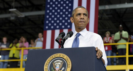 Obama's 'grand bargain' twist: Let's focus on jobs, not the deficit