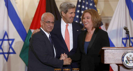 What role for US in new Israel-Palestinian peace talks?